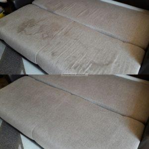 удаление пятен с дивана и нейтрплизация запахов фото